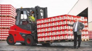 For decades, Cölner Hofbräu P. Josef Früh KG in Cologne-Feldkassel has been using equipment exclusively from Linde Material Handling for internal material flow.