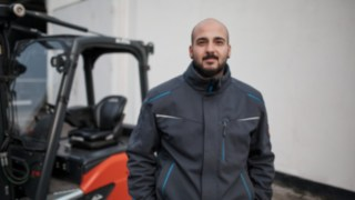 Cristofaro Cammilleri is a warehouse logistics employee at Reinheim-based Grass GmbH.