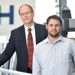 Matthias Ehmler and Stefan Heger