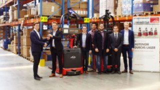 L-MATIC by Linde Material Handling is commissioned at HOLTER