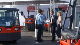 Linde's booth at the Inter Airport 2017