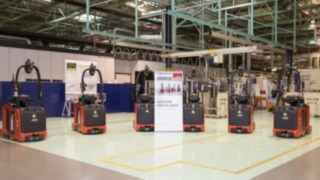 Automated forklifts from Linde