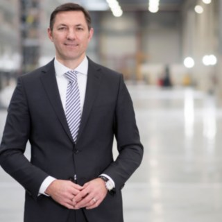 Andreas Krinninger, CEO of Linde Material Handling