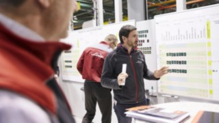 Meeting of Linde employees of development & construction