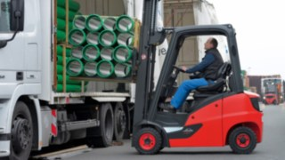 Diiesel, LPG and CNG forklift trucks Linde H14 to H20 EVO