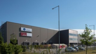 The new spare parts distribution centre in Brno, Czech Republic