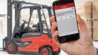 Checking App for the Linde fleet management software