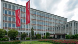 Linde Material Handling Headquarters in Aschaffenburg, Germany