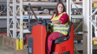 New driver's seat and stand-on platform trucks from Linde Material Handling offer enhanced comfort, safety, and performance
