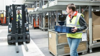 Linde Safety Guard assistance system prevents accidents