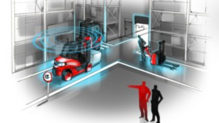 "Linde Material Handling introduces new functions for its ""connect"" fleet management system."