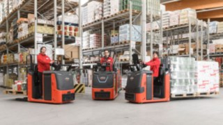 Linde N20 C: A new generation of low-level order pickers