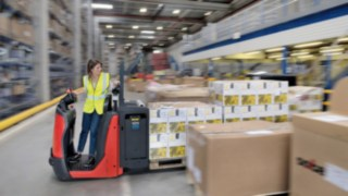 With the Linde N20, Linde Material Handling is optimizing its unique order picking concept
