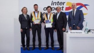 Linde Material Handling receives Excellence Award at inter airport Europe 2019