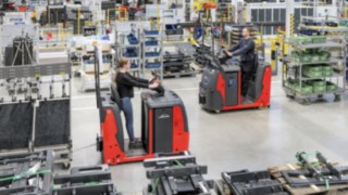 New tow tractor series from Linde Material Handling