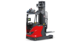 Automated Linde R-MATIC reach truck