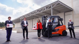 Handover of the millionth vehicle