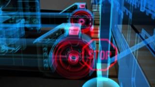 Proportional braking of the Rack Protection Sensor from Linde Material Handling