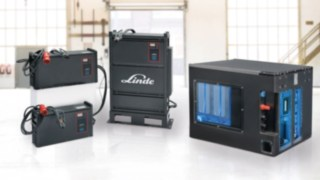 Everything from one source - Li-ION batteries and chargers from Linde Material Handling