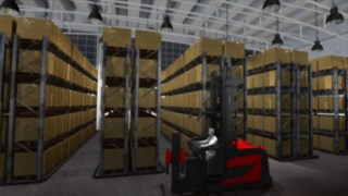Video about the warehouse navigation from Linde Material Handling