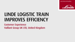 Increasing efficiency with Linde logistic trains