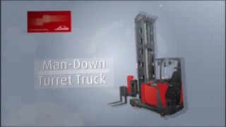 Product video about the functions and advantages of the Linde Material Handling A very narrow aisle trucks.