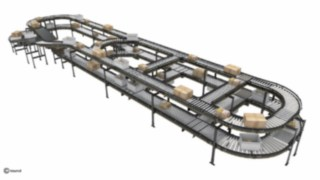 Automated solution conveyor belt